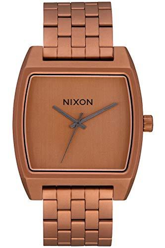 Nixon time tracker orologio Donna Digitale Al quarzo con cinturino in Acciaio INOX placcato A12453165