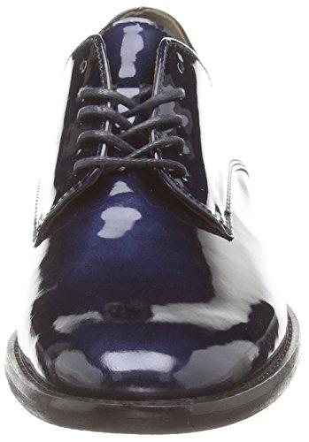 Gabor - Tramp, Scarpe stringate basse derby Donna Blu (Blue (Dark Blue Glossy Patent))