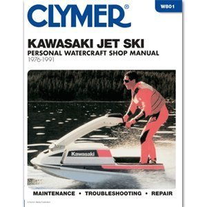 Kawasaki W801 Jet Ski Shop Manual, 1976-88