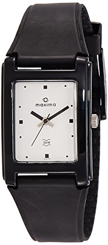 Maxima Analog White Dial Men's Watch - 02430PPGW