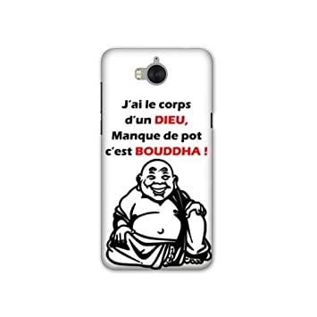 coque huawei y6 2017 humour