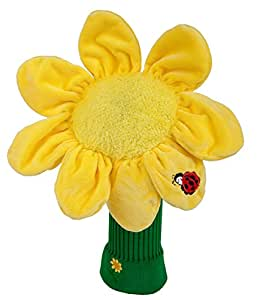 Daphne's High Quality Golf Headcovers 460cc Sunflower by Daphne's