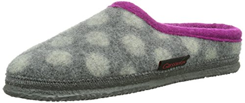 Giesswein - Pantofole Neuhof, grigio (Grau (Schiefer)), 36 (6 UK)