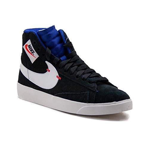 Nike Blazer MID Rebel Damen Sneaker aus schwarzem Wildleder BQ4022-005 -