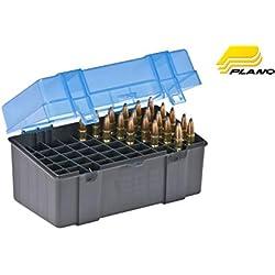 Plano Boîte de rangement pour 50cartouches pour carabine Petit modèle