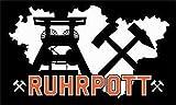 U24 Fahne Flagge Ruhrpott Motiv IV 90 x 150 cm