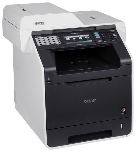 Affordable Brother MFC-9970CDW A4 Colour Laser Multifunction (Print/Scan/Copy/Fax) with Wireless and Auto Duplex Reviews