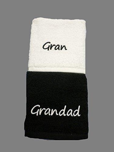 Gran et grandad Chiffons visage brodé