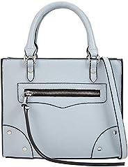Call It Spring City Handbag for Women, Light Blue, DEROVINI-450