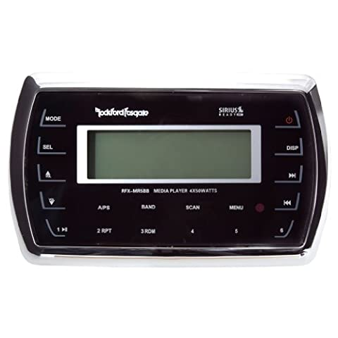 ROCKFORD FOSGATE RFXMR5BB MARINE HARD WIRED REMOTE