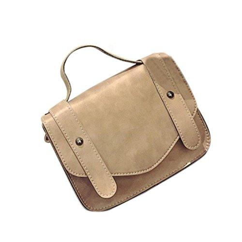 BZLine® Frauen Retro-einzelne Schulter Hand Tasche Schultertasche Handtaschen , 20cm *16cm *6cm Pink