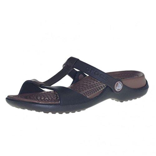 <span class='b_prefix'></span> Crocs Women's Cleo III Wedge Heels Sandals