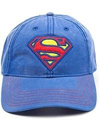 Superman Superman Logo Baseball-Cap blau