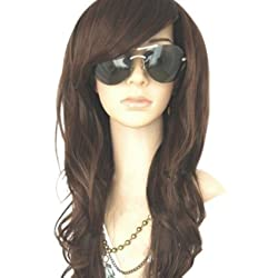 Valentine's Day Best Offer - MelodySusie New Women's Long Full Curly/Wavy Hair Wig Fashion