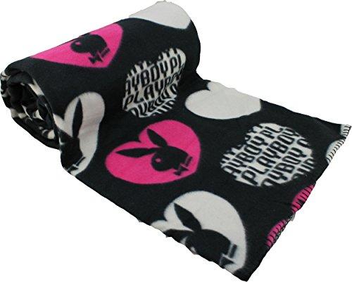 playboy-couverture-microfibre-bunny-couleur-couverture-polaire-douce-150-x-200-cm-tissu-herzen-schwa
