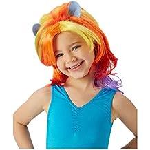 """Rubie""""s: peluca elegante en tonos rosa, oficial de My Little Ponyoficial (tamaño único)"""