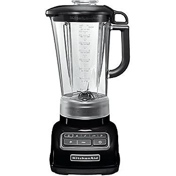 KitchenAid 5KSB1585EOB - Licuadora multifunción, color negro y ...