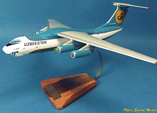 Ilyushin IL-76T Candid - maquette de collection décoration peinte main
