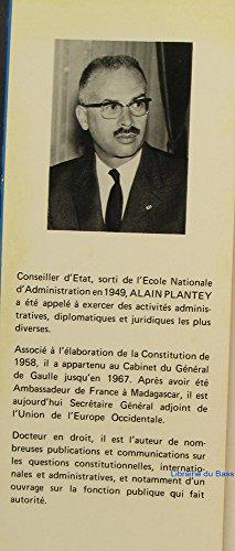 Prospective de l'Etat par Alain Plantey