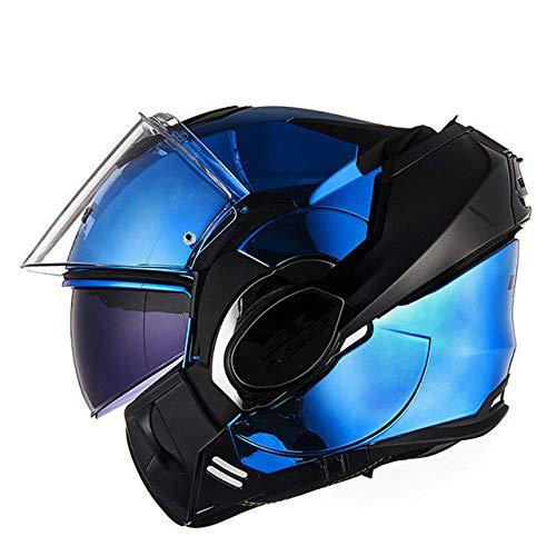 Berrd Casco integrale per casco da motociclista Patch antiappannamento Casco dopo abbattimento 1 XL