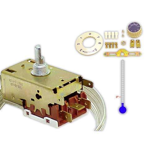 DOJA Industrial   Termostato RANCO Varifix VS-5 congelador