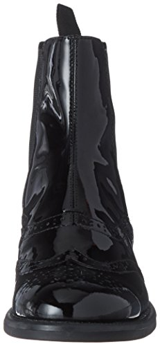 Vagabond Damen Amina Chelsea Boots Schwarz (Black)