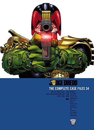 Picture of Judge Dredd Case Files 34