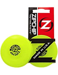 NJSTAR Zip Chip Frisbee Mini Pocket Flessibile Nuovo Spin Catching Game Flying Disc ZipChip 2 PCS