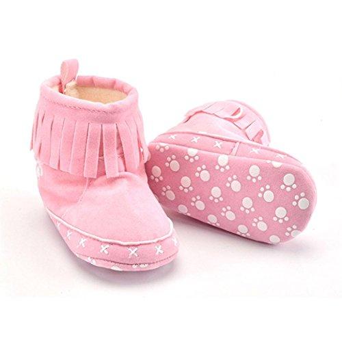 Baumwolle Schuhe Soft Ouneed® Baby Stiefel Rosa Crib Schnee Kleinkind Krabbelschuhe Sole qqwEx8AR