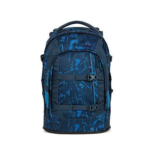 Preisvergleich Produktbild Satch Pack Blue Compass,  ergonomischer Schulrucksack,  30 Liter,  Organisationstalent,  Blau