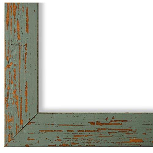 Online Galerie Bingold Bilderrahmen Türkis Grün 30x40-30 x 40 cm - Modern, Shabby, Vintage - Alle Größen - handgefertigt in Deutschland - WRF - Cremona 3,0