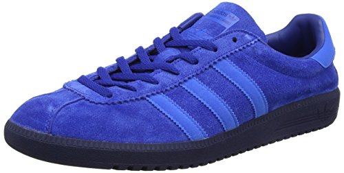 adidas Unisex-Erwachsene Bermuda Trainer Low Blau (Collegiate Royal/bluebird/dark Blue)