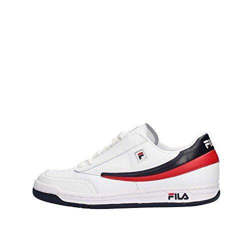Fila origine Tennis Classic Sneaker White, Fila Navy, Fila Red