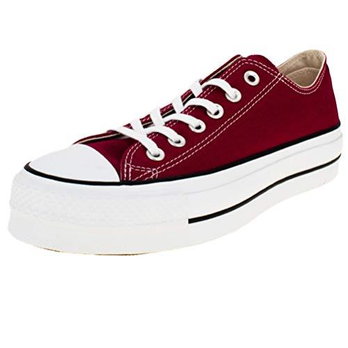 Converse Chucks CT AS Lift OX 563496C Dunkelrot, Schuhgröße:39