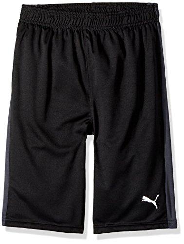 PUMA Big Boy's Boys' Form Stripe Short Shorts, Black, Small