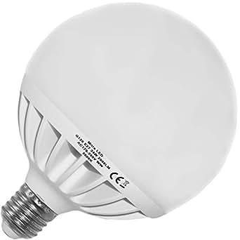 ampoule led e27 24 watt env 150 watt blanc chaud 2000 lumens globe g120 20. Black Bedroom Furniture Sets. Home Design Ideas