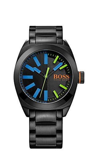 Hugo Boss Gents Watch XL Analogue Quartz Stainless Steel Coated 1513058
