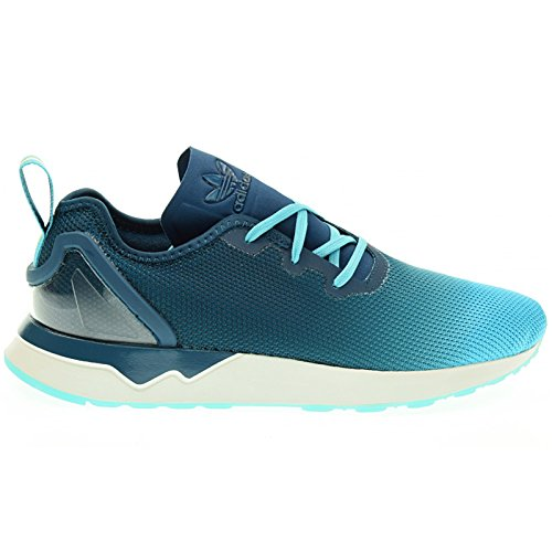 adidas Originals ZX Flux ADV Asymmetrical HOMME Baskets Bleu S79056, Taille:44 2/3