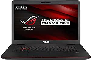 Asus GL771JW-T7082T 43,9 cm (17,3 Zoll,FHD) Notebook (Intel Core i7 4720HQ, 16GB RAM,1TB HDD+ 256GB SSD, NVIDIA GF 960M 4GB, Blu-ray, Win 10 Home) schwarz
