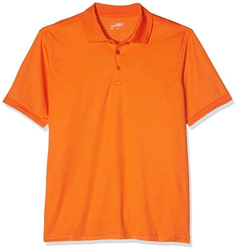 James & Nicholson Herren Poloshirt Men´s Active Polo Orange (Dark-Orange)