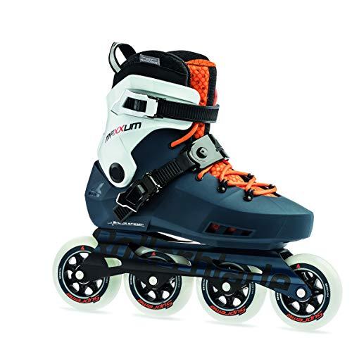 Rollerblade Unisex- Erwachsene MAXXUM Edge 90 Inline-Skate, Sapphire/orange, 310