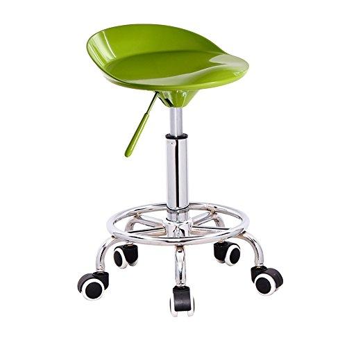 TRRE@ Aufzug Barhocker, einfache Barhocker, Rezeption Hocker, Barhocker, stilvolle Barhocker (Farbe : Fruit green)
