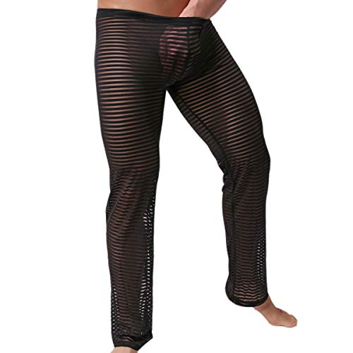 Underwear Sexy Soft String Bikini Underpants Pack of 6 (XL, Hose schwarz) ()