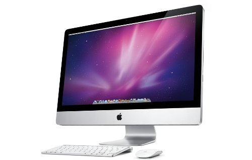 Apple iMac MC510D/A 68.6 cm (27 Zoll) Desktop-PC (Intel Core i3 550, 3,2GHz, 4GB RAM, 1000GB HDD, ATI HD 5670, DVD, Mac OS)