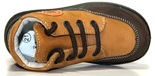 Jela 21.051.77 Kinder Schuhe Stiefeletten Braun (dunkelbraun/caramel) Braun (dunkelbraun/caramel)