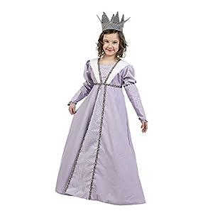 Limit Sport - Disfraz natural de princesa medieval para niña (MI925)