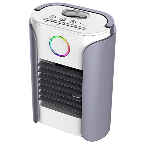 OOFAYHD Mini climatiseur de Voiture, climatiseur de Refroidissement portatif pour climatiseur portatif Ventilateur de Charge portatif à Usage Domestique Mini Ventilateur humidificateur