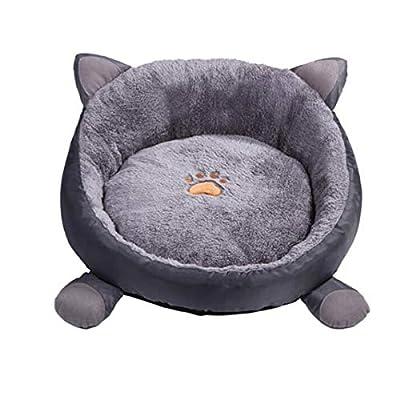 Huijunwenti Dog Bed,Winter Cat Kennel Long-haired Pet Nest Deep Sleep Nest Teddy Small Medium Dog Bed Comfortable and comfortable from huijunwenti