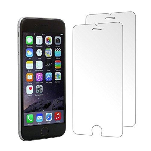 [2 Stück] CÄSAR-GLAS Panzerglas Schutzglas für Apple iPhone 7 Plus (+) , Anti-Kratzen, Anti-Öl, Anti-Bläschen