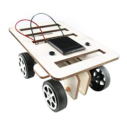 XuBa 2018 DIY Solar Spielzeug Auto Montage Solar Fahrzeug Mini Solar Energie Pulvertier Spielzeug Racer Kind Kind Solar Auto Ausbildung Kit Show (Solar-auto-montage-kit)